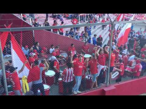 ENTRA LA BARRA. Hinchada de independiente vs gimnasia - La Barra del Rojo - Independiente