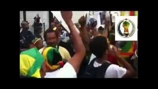 Shame On OBAMA!! Demonstration  Against Meles Invitation (Ethiopia)