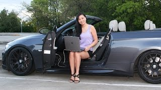 Tara learns how to get her diagnose her BMW 335i from Dr. Bimmer. (Luis does BMW coding in the Vancouver area: 604-358-4078/ www.drbimmer.ca) To DIY your diagnosis, you need an OBD2 K+Dcan cable. Here are a couple possible links:http://www.one-stop-electronics.com/shop/index.php?dispatch=products.view&product_id=16 and this is in Europe:https://doitauto.de/kfz-diagnose/90/bmw-inpa/ediabas-k-dcan-usb-interface and you need the DIS program which can be found here for now:http://www.bimmerforums.com/forum/showthread.php?1541368-The-files-to-an-EasyDIS-GT1-machine