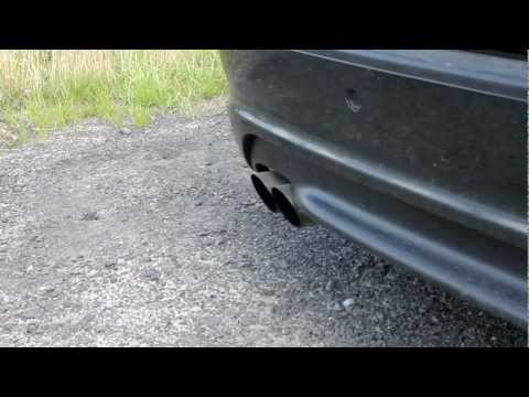 E46 320d de cat exhaust sound