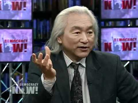 Future Physics - Dr. Michio Kaku, a Japanese-American theoretical physicist and best-selling author, is interviewed by Democracy Now! about his new book,