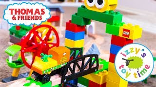 Thomas and Friends | Thomas Train DUPLO Adapter with Brio and LEGO | Fun Toy Trains for Kids!