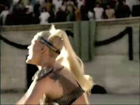 Britney Spears - Pepsi Commercial Full Version Song: We Will Rock You Singers: Britney Spears; Pink; Beyonce.