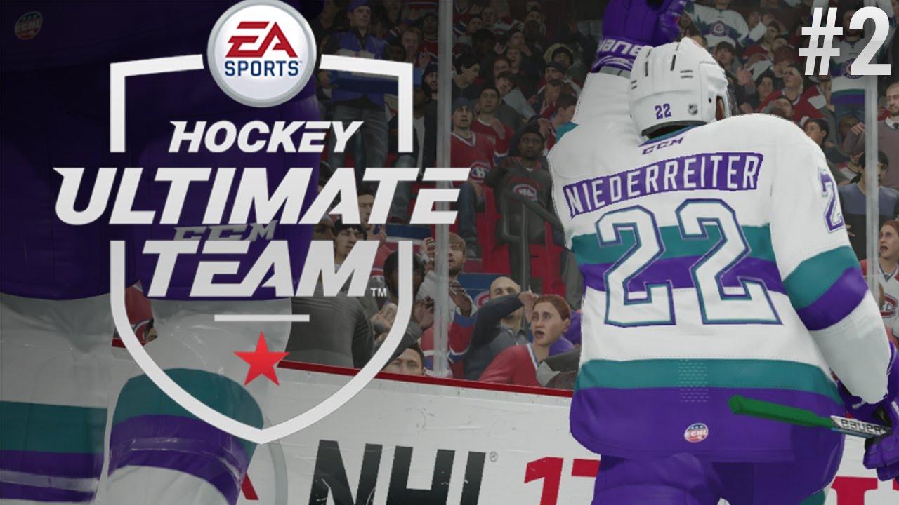 EL NINO! FIRST GAME AND PACKS! | NHL 17 ULTIMATE TEAM