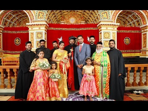 Shalu + Athira Wedding By H.G. Issac Mor Osthatheos In St.Thomas Jacobite Cathedral Manthalir