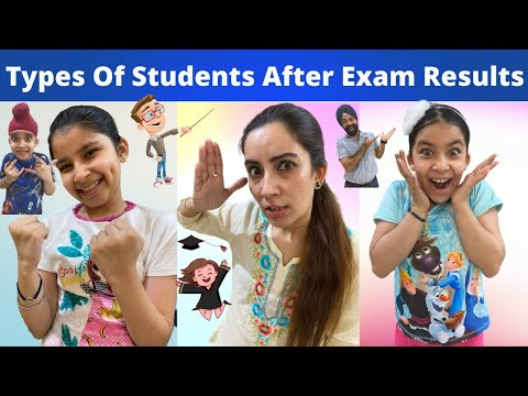 Types Of Students After Exam Results | RS 1313 VLOGS | Ramneek Singh 1313
