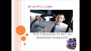 Top 5 Reasons To Buy an Extended Warranty