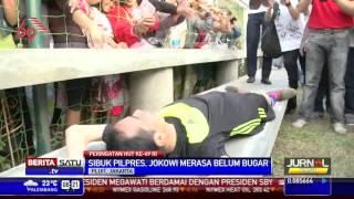 Video Jokowi Pingsan Kelelahan setelah Balap Karung & Main Bola hajar lawannya MP3, 3GP, MP4, WEBM, AVI, FLV Juni 2018