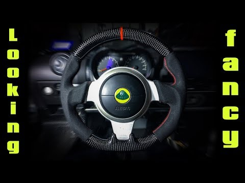Lotus Exige S240: GRP Steering Wheel Removal and Installation