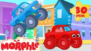 Video The Sticky Truck Chase With Morphle! Truck video for kids. (animation cartoon) MP3, 3GP, MP4, WEBM, AVI, FLV Januari 2018