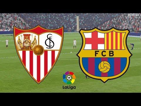 La Liga 2017/18 - Sevilla Vs Barcelona - 31/03/18 - FIFA 18