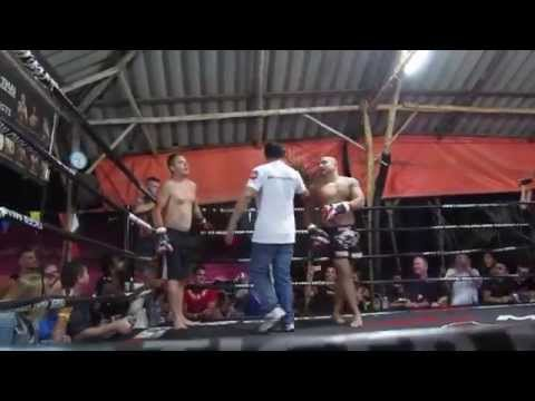 Lee Jones Tiger Muay Thai BBQ Beatdown Fight
