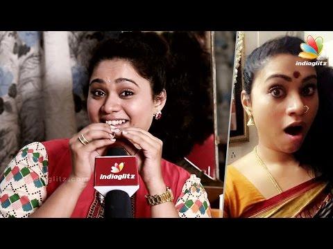Vamsam-Bhoomika--Will-push-Angelina-Jolie-away-to-date-Brad-Pitt-Interview-Tamil-Serial-Actress
