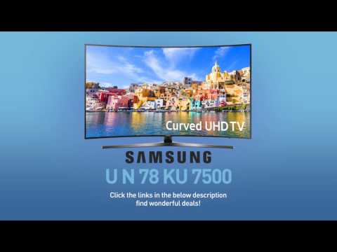 SAMSUNG UN78KU7500 ( KU7500 ) Curved 4K UHD TV // FULL SPECS REVIEW #SamsungTV