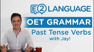 Video OET Writing: Grammar | USING PAST TENSE VERBS with Jay! MP3, 3GP, MP4, WEBM, AVI, FLV Desember 2018