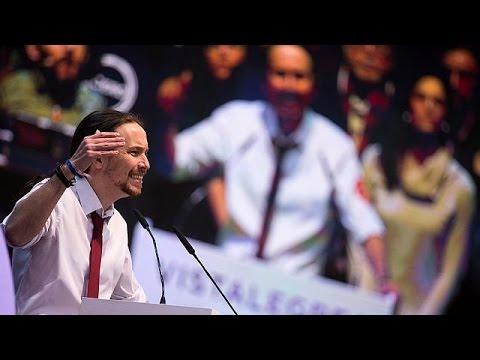 Ο Πάμπλο Ιγκλέσιας επανεξελέγη στην ηγεσία του Podemos