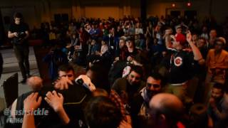 Mr. R popping off after coming back from a 0-2 deficit against Dabuz.