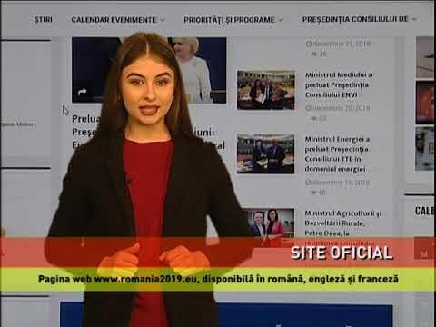 Site-ul oficial al preşedinţiei României la Consiliul Uniunii Europene, lansat