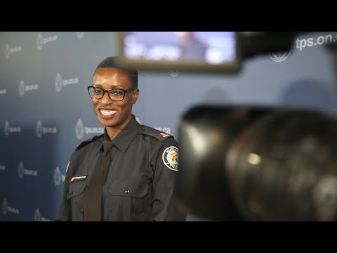 Profiles In Policing with @TorontoPolice | Media Relations Officer Allyson Douglas-Cook