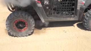 9. Polaris RZR on fire owner cries