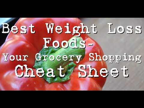 Best Weight Loss Foods to Eat- Grocery Shopping For Weight Loss Rules Of Thumb