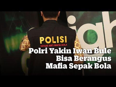 Polri Yakin Iwan Bule Bisa Berangus Mafia Sepak Bola