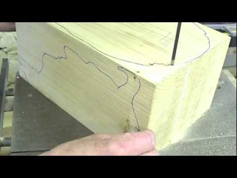 Woodcarving Lessons with Ian Norbury. 01 - Preparation and Bandsawing