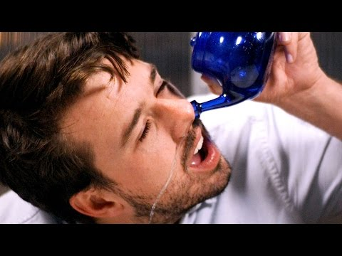 People Try A Neti Pot For The First Time
