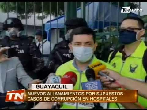 Nuevos allanamientos por supuestos casos de corrupción en hospitales