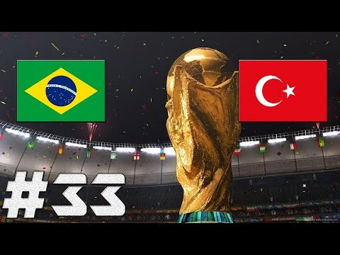 FIFA 17 | Brazílie-Turecko | FINÁLE-MS 2018!!! | PART 33 | XBOX ONE | CZ/SK
