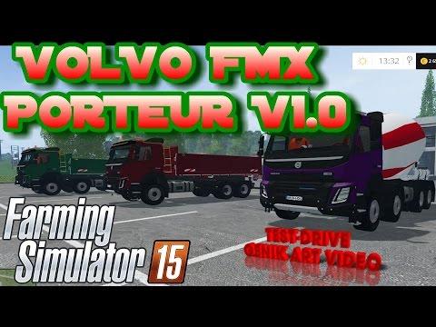 Volvo FMX Porteur v1.0