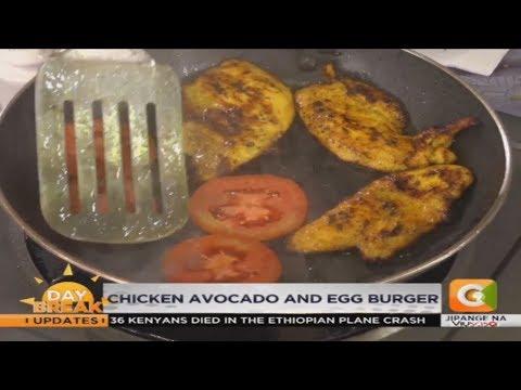   BREAKFAST TIPS   Fried Sweet Potato Wedges, Chicken Avocado & Egg Burgers