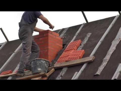 Технология кладки дымохода из кирпича