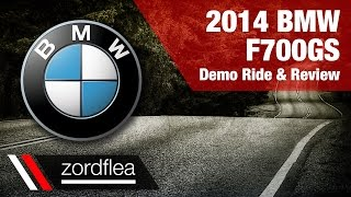 7. 2014 BMW F700GS - Demo ride and review