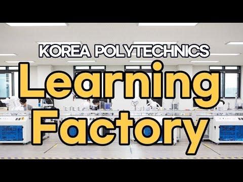 대표 홍보영상:한국폴리텍대학 러닝팩토리 Learning Factory