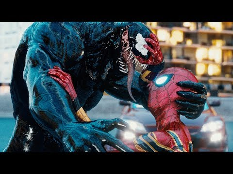 VENOM Vs SPIDER-MAN PS4, INTO THE SPIDER-VERSE MILES MORALES & SPIDER-GWEN STACY FIGHT