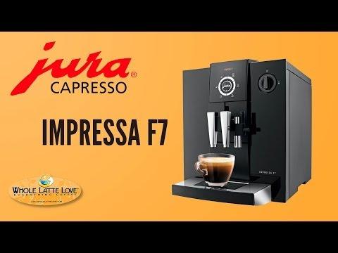 Jura-Capresso Impressa F7 Super-Automatic Espresso Machine
