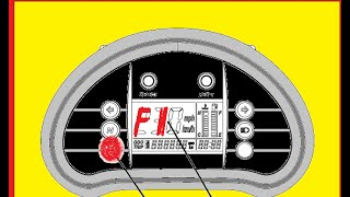 8. How to read FI fault code Hyosung GV650 and GT650