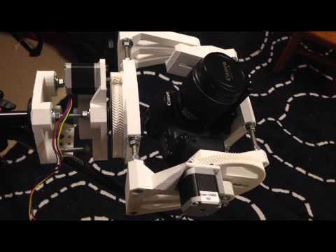 Pan Tilt Module Gear Revisions & Horizontal Test