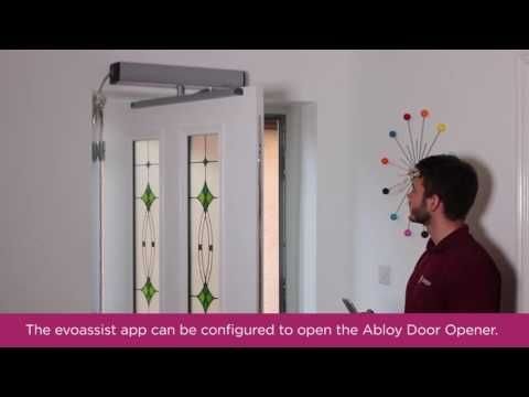 Easy door control with the evoassist app