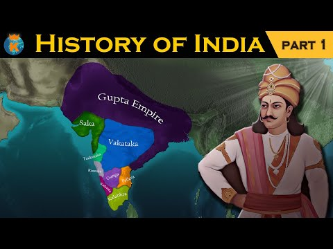 THE HISTORY OF INDIA in 12 Minutes - Part 1