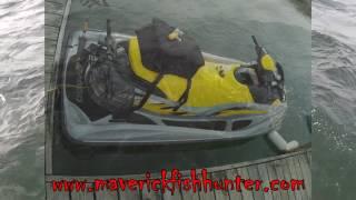 7. SeaDoo 2007 GTI SE 155 maiden voyage - Jet Ski Fishing PWC Fishing