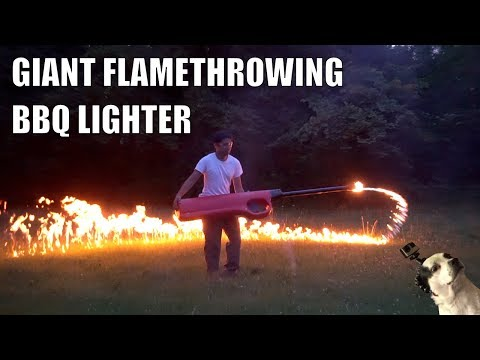 Worlds largest BBQ lighter (not clickbait)