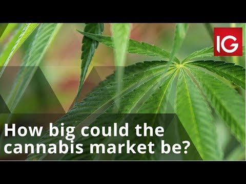 How big could the cannabis market be in the UK and Europe?