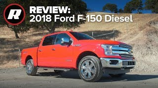 Take a spin in the 2018 Ford F-150 Diesel with Antuan and Emme | Review (4K) by Roadshow
