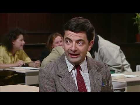 Talking Bean  Funny Clips  Mr Bean Official