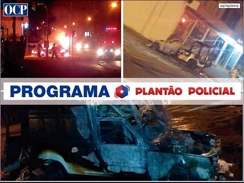 Plantão OCP 25/03/2015 (Incêndio veicular em Jaraguá do Sul)