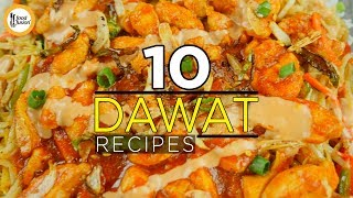 10 Dawat Recipes by Food Fusion