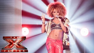 Fleur East sings All About That Bass | Live Week 1 | The X Factor UK 2014