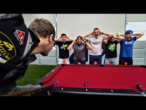Florian Kohler Performs More Amazing Pool Trick